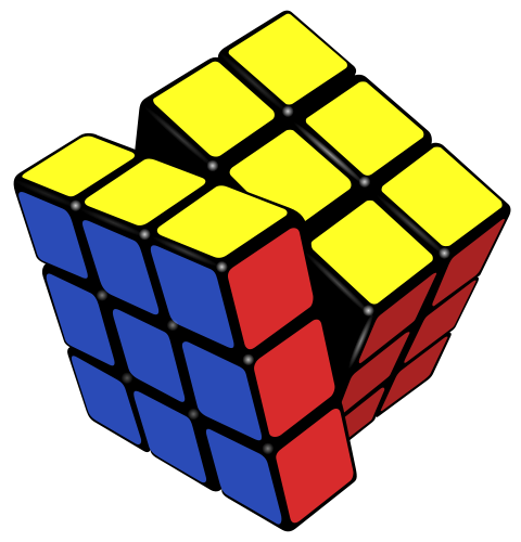 480px-Rubik%27s cube almost solved svg