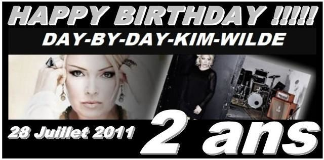 Bannière Happy birthday DbD-Kim Wilde 2