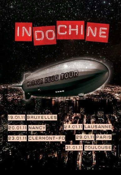 Indochine météor club tour