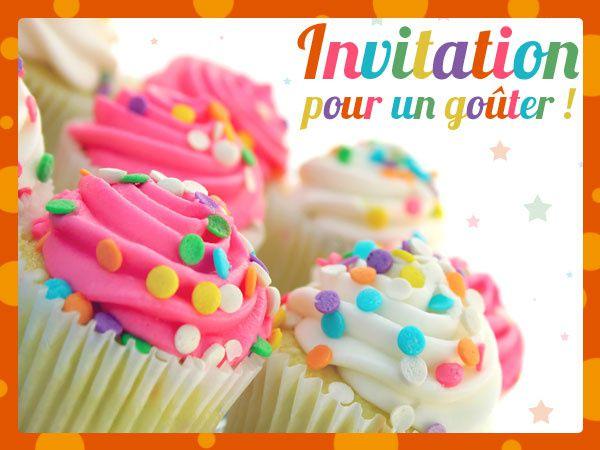 Invitation goûter