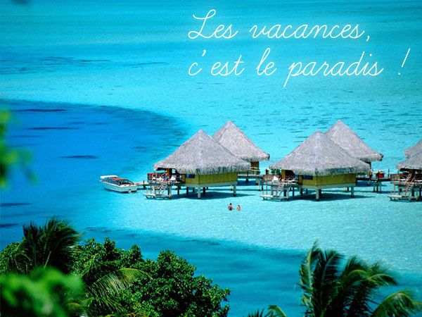 Carte virtuelle vacances