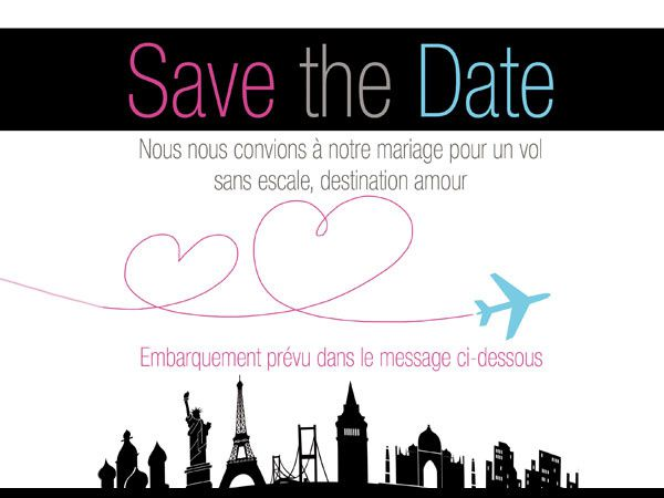 Save-the-date voyage