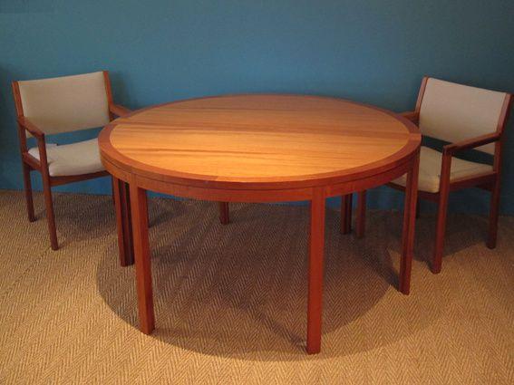 table scandinave de christian hvidt coin canal. Black Bedroom Furniture Sets. Home Design Ideas