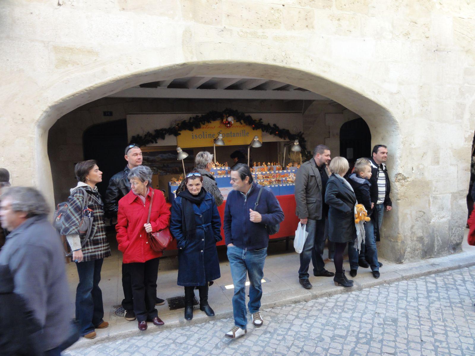 Photos diverses du Marché aux Santons de Tarascon les 26 et 27 novembre 2011