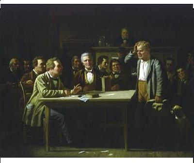 George Caleb Bingham Witness puzzled