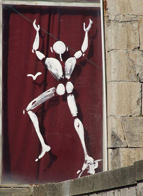 38 - Grenoble - Homme blanc à la Bastille