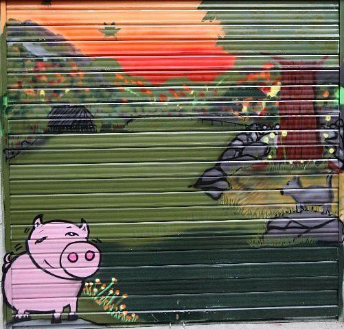 38 - Grenoble - Cochon bien gras