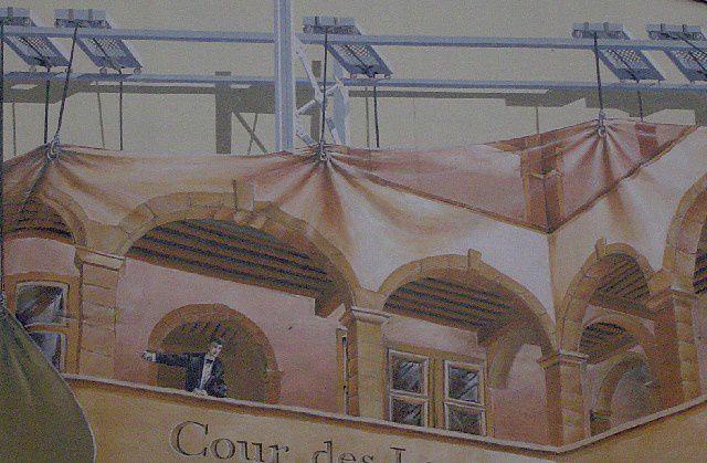 69 - Lyon - Cour des loges