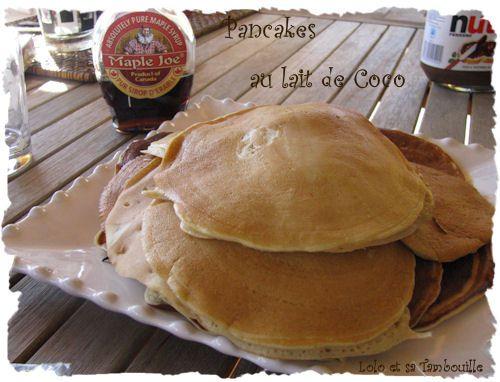 Pancakes au lait de coco (1)