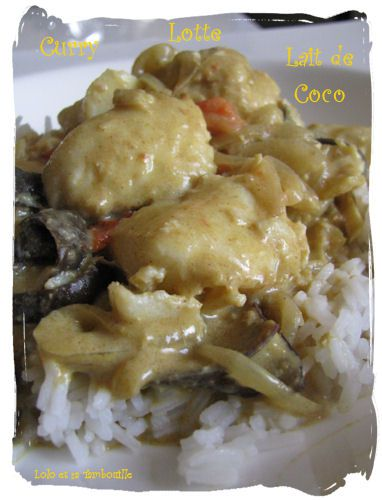 Curry de lotte au lait de coco (4)