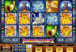 Machine a sous Microgaming Thunderstruck