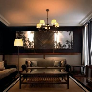 conseils en clairage pour un salon installer un luminaire. Black Bedroom Furniture Sets. Home Design Ideas
