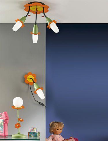 conseils en clairage pour une chambre d enfant installer un luminaire. Black Bedroom Furniture Sets. Home Design Ideas