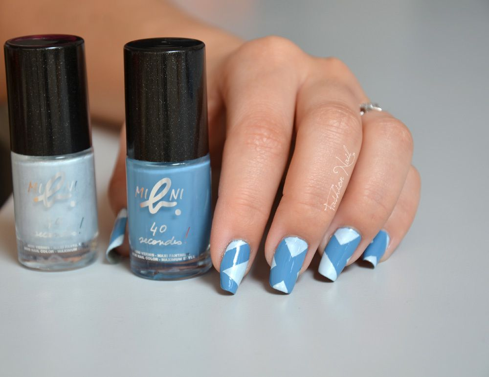Nail art au scotch avec du masking tape ! - Nail art - Le blog de Yoko