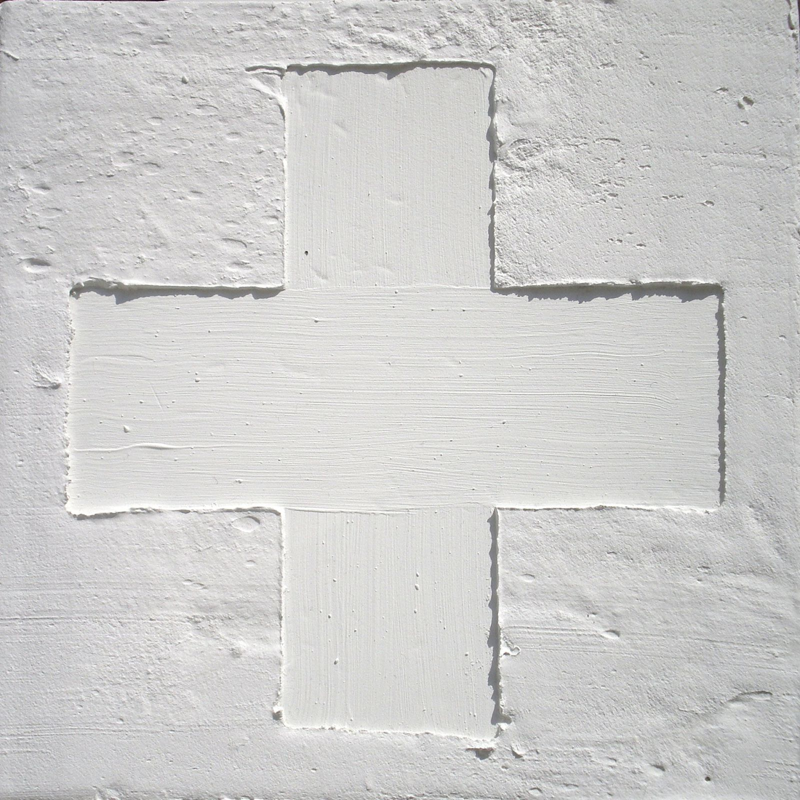 """Série """"Horizons verticaux, Intersections"""" © Mā Thévenin 2010 - Dim 25x25cm Technique mixte"""