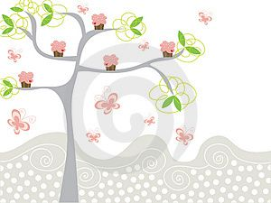 cute-pink-cupcakes-on-a-tree-thumb3888116