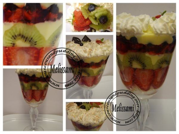 Fruity And Creamy English Trifle Couscous And Pudding