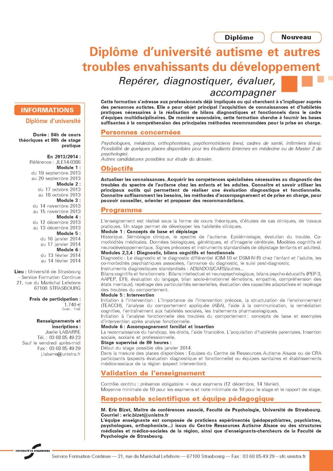 modele cv psychologue