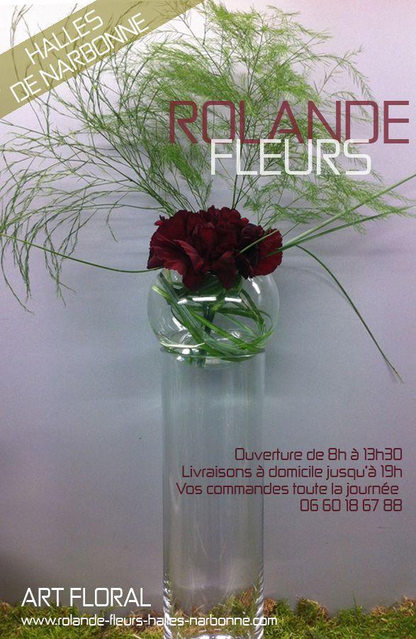 Rolande fleuriste à Narbonne ville et à Narbonne plage