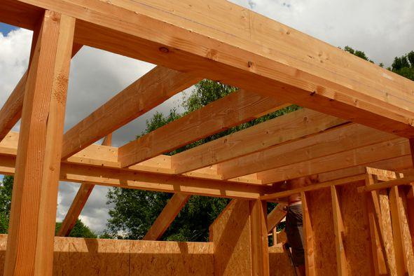 toiture terrasse (future toiture végétalisée sur 35 m², avec pente