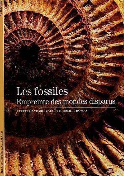 decouverte gallimard fossiles