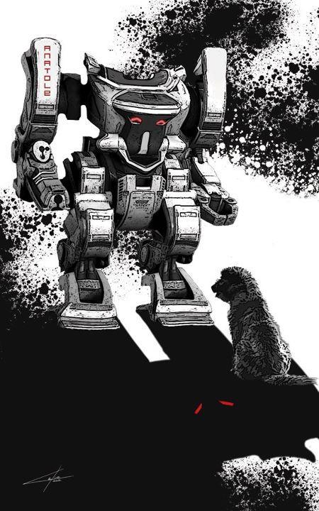 illustration recueil robot voyel