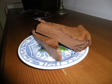 Flan choco-canelle