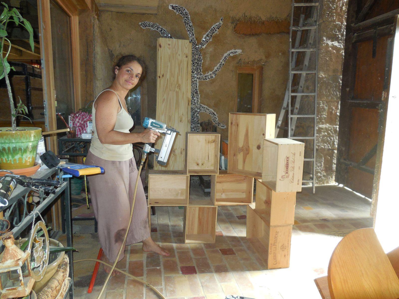 Que faire avec des caisses en bois. top wooden crate with lid toy