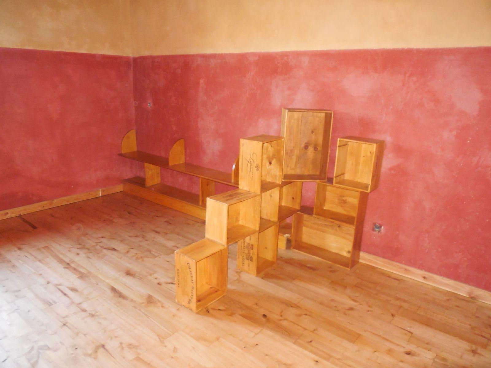 Enduits et peintures de la chambre dodue n 1 for Photo de peinture de chambre