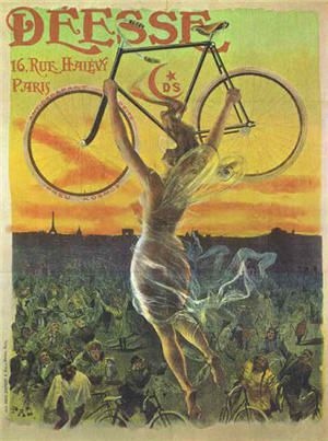 vintage bicycle posters