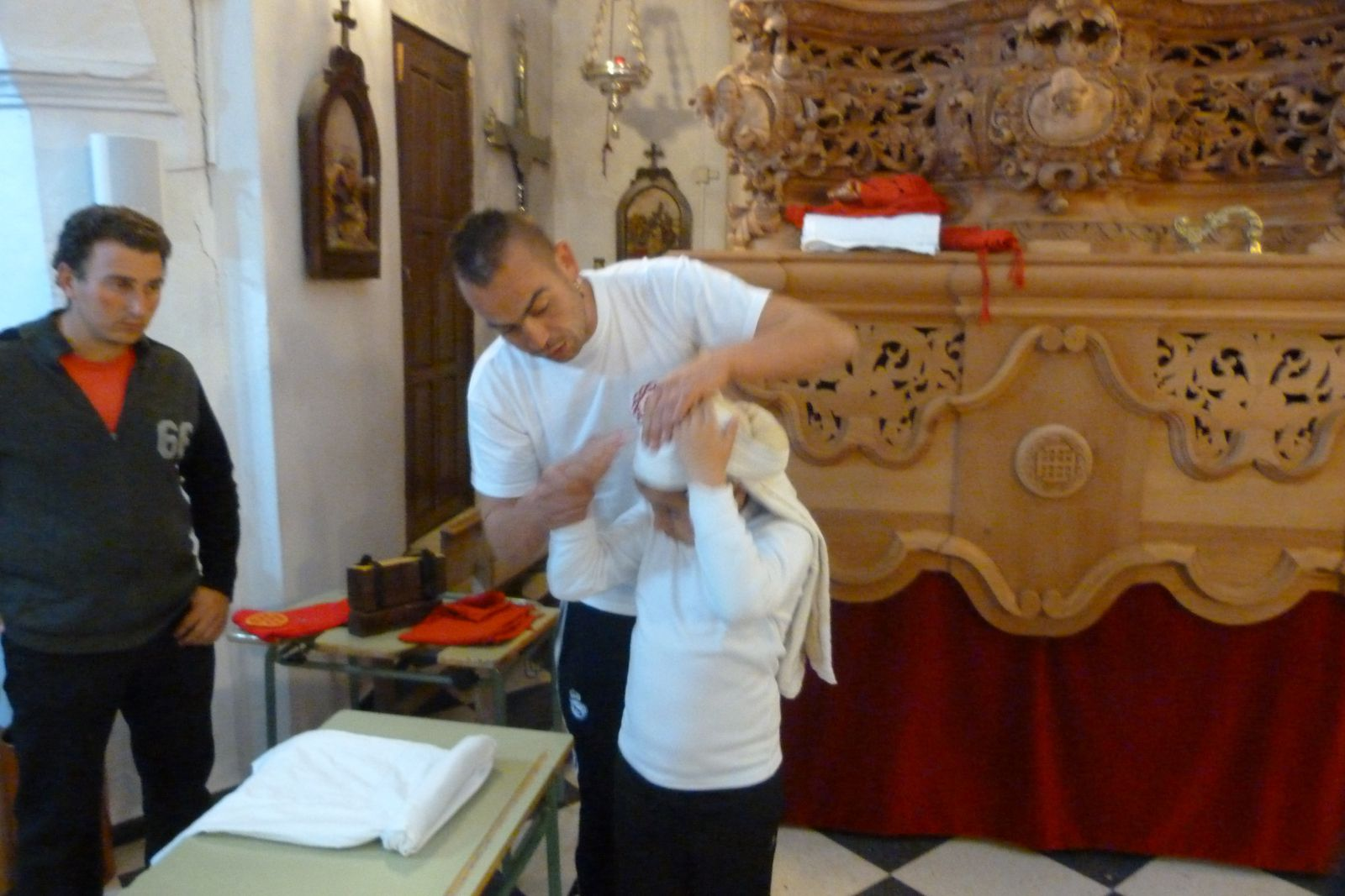 Preparando la Semana Santa 2013
