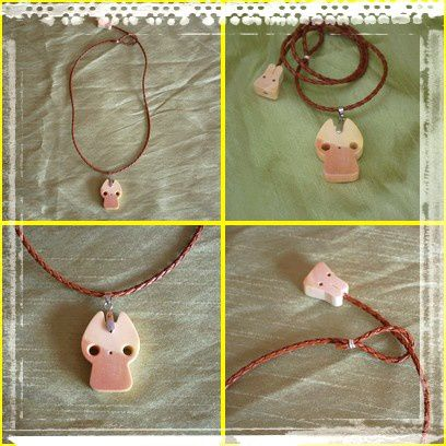 collier chat bois