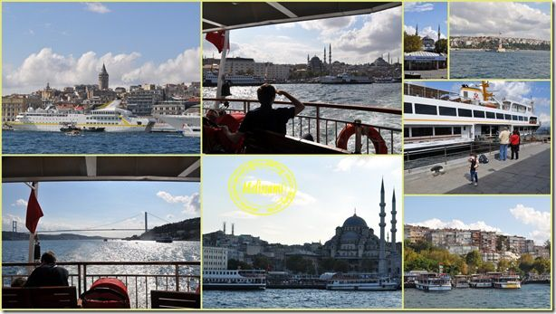 cruise on the bosphore, istanbul