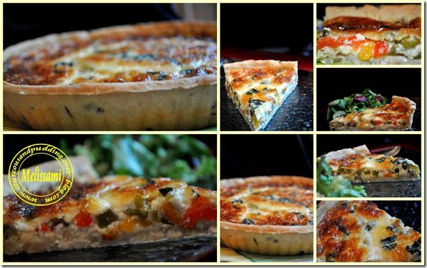 grilles pepper quiche