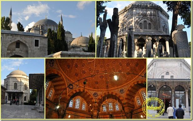 souleyman mosque, istanbul