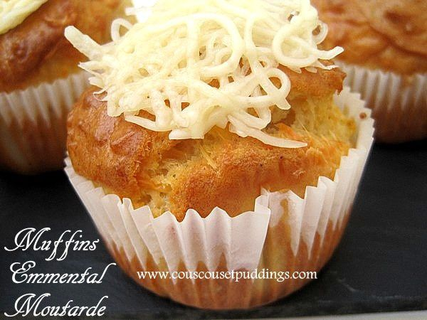muffins emmental grains de moutarde