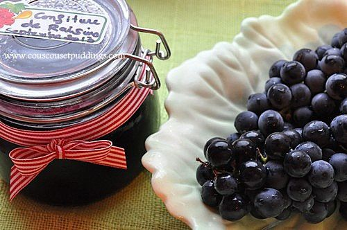 confiture de raisin