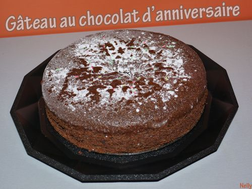 recette gateaux d anniversaire au chocolat. Black Bedroom Furniture Sets. Home Design Ideas