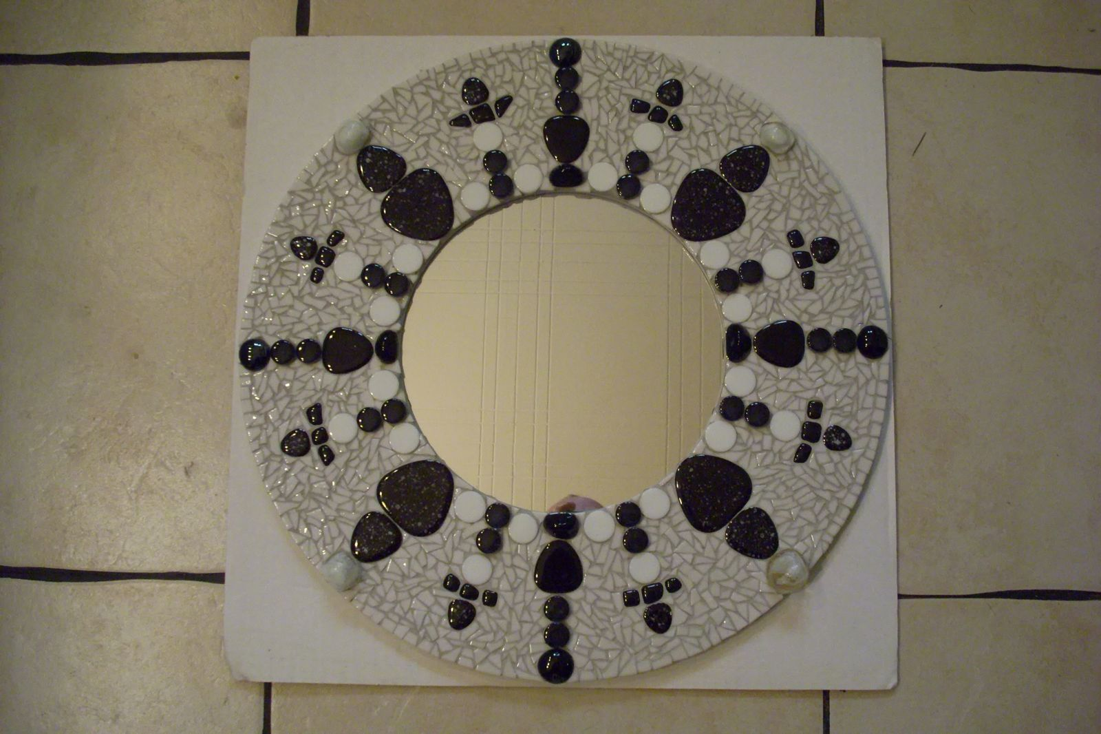 Miroir mosa que creation fait for Mosaique miroir