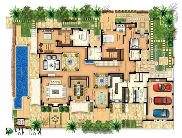 How to get right architectural floor plans 3d floor plan for How to design 3d house plans
