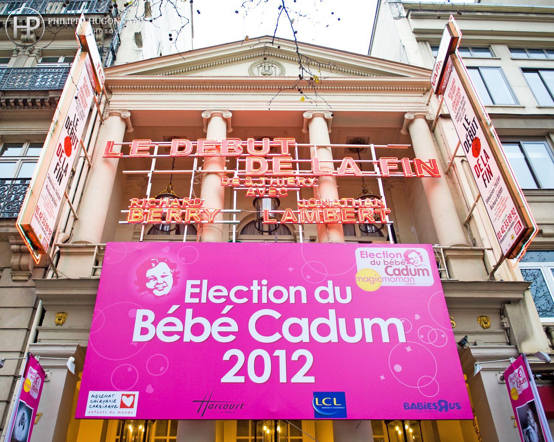 FINALE DE L'ÉLECTION DU BÉBÉ CADUM 2012Théatre des Variétés - ParisMardi 24 Janvier 2012Crédits photos - Droits réservés - ©Philippe Hugonnard