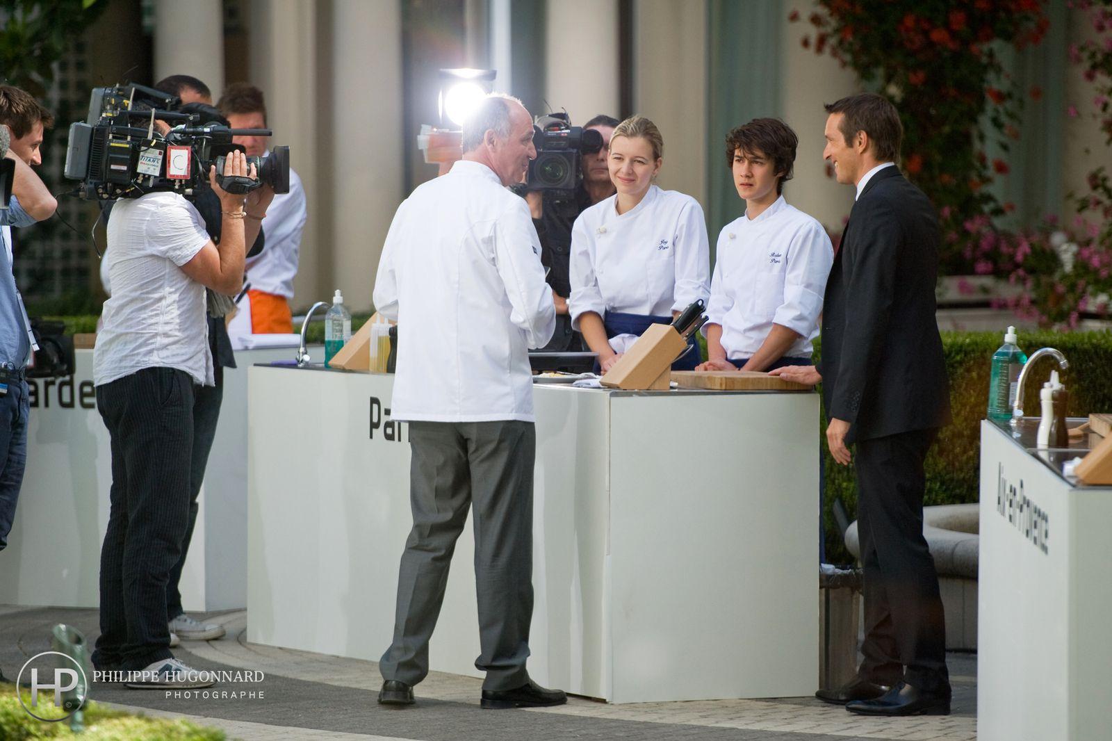 Reportage photos de la finale Dîner presque parfait - La meilleure équipe de France 2011