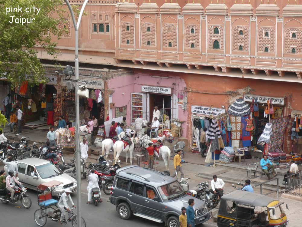 pink-city Jaipur circulation