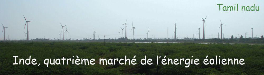 Tamil nadu : éoliennes