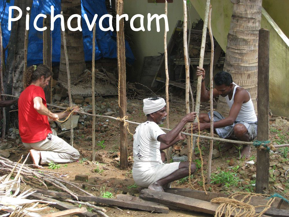 pichavaram-construction