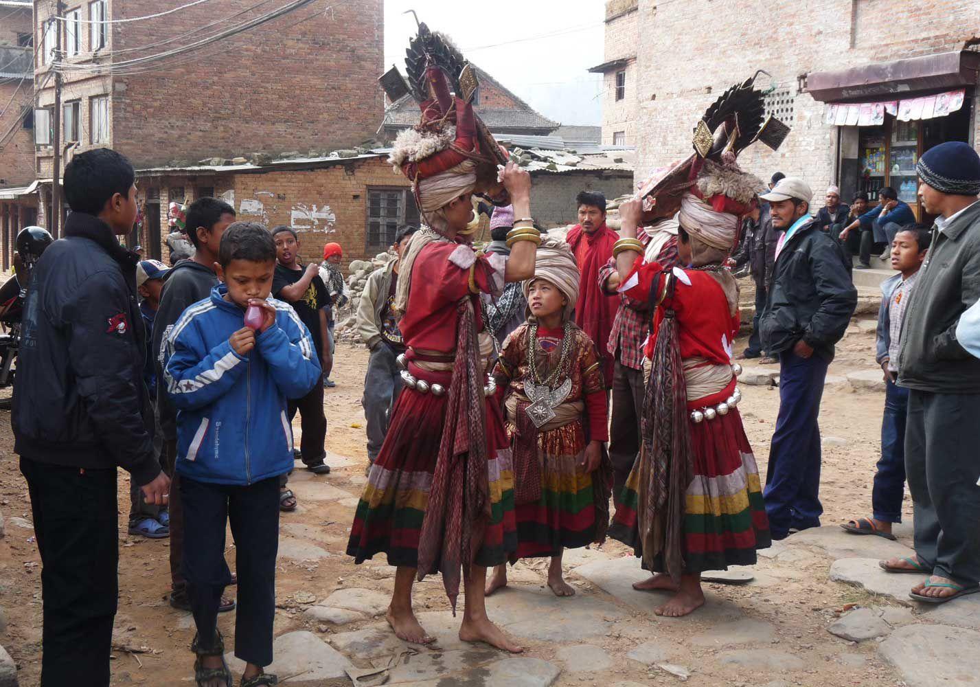Népal trek à Nagarkot