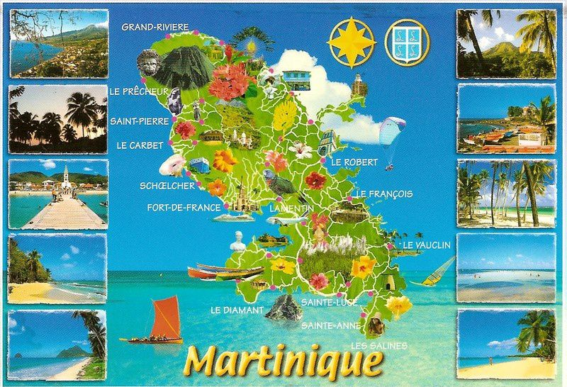 Martinique cartes postales - Office de tourisme guadeloupe en france ...