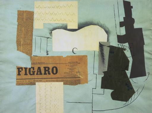 picasso collage
