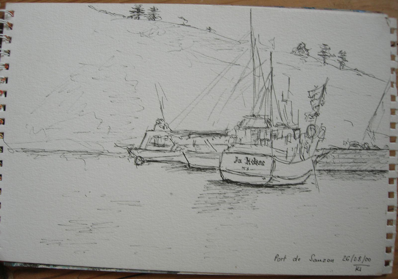 dessins et tableaux à houat