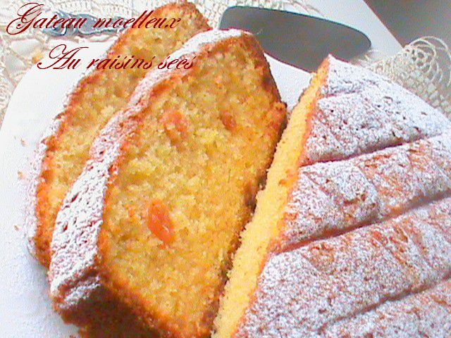 gateau aux raisins blancs les recettes populaires blogue le blog des g teaux. Black Bedroom Furniture Sets. Home Design Ideas